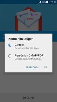 Samsung N910F Galaxy Note 4 - E-Mail - Konto einrichten (gmail) - Schritt 7