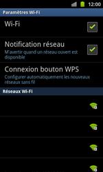 Samsung I8530 Galaxy Beam - Wifi - configuration manuelle - Étape 6