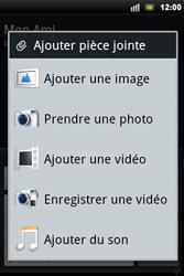 Sony Ericsson Xperia Mini Pro - MMS - envoi d'images - Étape 11