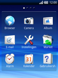 Sony Ericsson Xperia X10 Mini Pro - E-mail - hoe te versturen - Stap 3