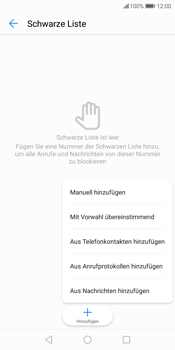 Huawei P Smart - Anrufe - Anrufe blockieren - 8 / 12