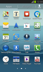 Samsung Galaxy S III Mini - Applications - How to check for app-updates - Step 3