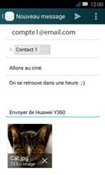 Huawei Y3 - E-mail - envoyer un e-mail - Étape 17