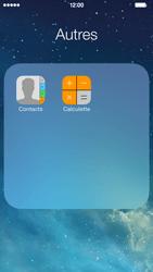 Apple iPhone 5 - Contact, Appels, SMS/MMS - Ajouter un contact - Étape 4