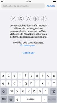 Apple iPhone 8 Plus - iOS 14 - Internet et roaming de données - Navigation sur Internet - Étape 4