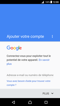 Sony Xperia Z5 Premium (E6853) - Android Nougat - E-mail - Configuration manuelle (gmail) - Étape 9