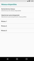 LG Nexus 5X - Android Oreo - Réseau - Sélection manuelle du réseau - Étape 9