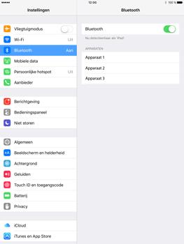 Apple iPad Pro (9.7) - Bluetooth - koppelen met ander apparaat - Stap 7