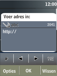 Nokia X3-02 - internet - hoe te internetten - stap 10