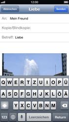 Apple iPhone 5 - E-Mail - E-Mail versenden - Schritt 10
