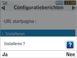 Samsung S3350 Chat 335 - MMS - automatisch instellen - Stap 8