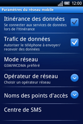 Sony Xperia X8 - MMS - Configuration manuelle - Étape 6
