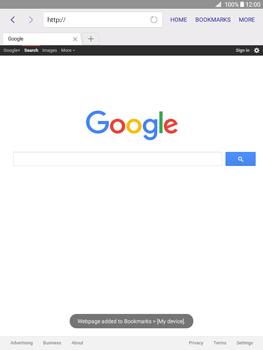 Samsung Galaxy Tab A 9.7 - Internet - Internet browsing - Step 7
