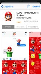 Apple iPhone SE - iOS 10 - iOS features - Stuur een iMessage - Stap 20
