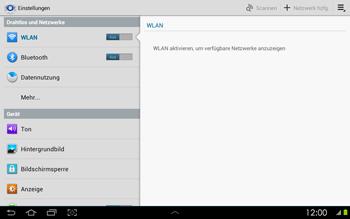 Samsung Galaxy Tab 2 10-1 - Internet - Manuelle Konfiguration - 5 / 25