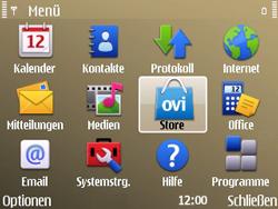Nokia E72 - Apps - Konto anlegen und einrichten - Schritt 3