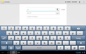 Asus Padfone 2 - E-Mail - E-Mail versenden - Schritt 6