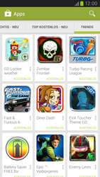 Samsung Galaxy S III LTE - Apps - Installieren von Apps - Schritt 12