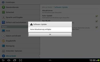 Samsung Galaxy Tab 2 10.1 - Software - Installieren von Software-Updates - Schritt 10
