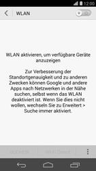 Huawei Ascend P7 - WLAN - Manuelle Konfiguration - Schritt 5