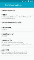 Samsung Samsung Galaxy J3 2016 - Software - Installieren von Software-Updates - Schritt 6