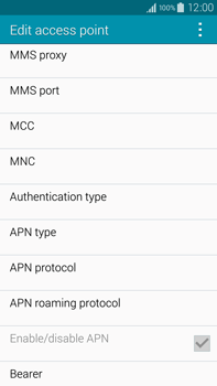 Samsung N910F Galaxy Note 4 - MMS - Manual configuration - Step 12