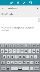 Samsung Galaxy S5 - E-Mail - E-Mail versenden - 9 / 19