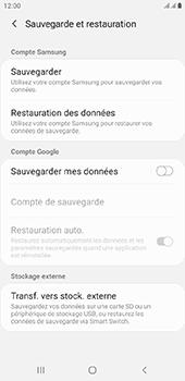 Samsung Galaxy J4 Plus - Données - créer une sauvegarde avec votre compte - Étape 6