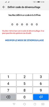 Huawei Y6 (2019) - Sécuriser votre mobile - Activer le code de verrouillage - Étape 6