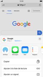 Apple iPhone SE (2020) - Internet et roaming de données - Navigation sur Internet - Étape 6