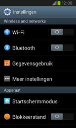 Samsung I9105P Galaxy S II Plus - bluetooth - aanzetten - stap 4