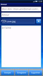 Sony Ericsson Xperia X10 - E-mail - envoyer un e-mail - Étape 10