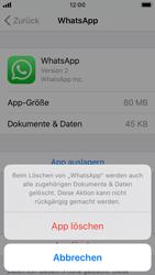 Apple iPhone SE - iOS 13 - Apps - Eine App deinstallieren - Schritt 7