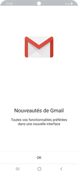 Samsung Galaxy S20 5G - E-mail - 032a. Email wizard - Gmail - Étape 5