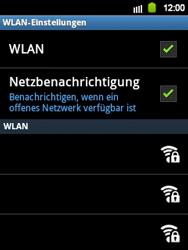 Samsung Galaxy Y - WiFi - WiFi-Konfiguration - Schritt 7