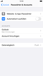 Apple iPhone 8 - iOS 13 - E-Mail - Konto einrichten (outlook) - Schritt 9