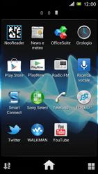 Sony Xperia J - Applicazioni - Configurazione del negozio applicazioni - Fase 3