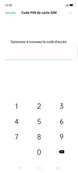 Oppo Find X2 Lite - Sécuriser votre mobile - Personnaliser le code PIN de votre carte SIM - Étape 11