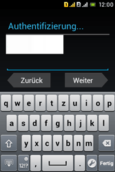 Sony Xperia Tipo Dual - Apps - Konto anlegen und einrichten - Schritt 21