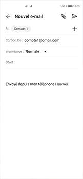 Huawei P40 - E-mails - Envoyer un e-mail - Étape 7