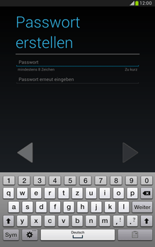 Samsung N5100 Galaxy Note 8-0 - Apps - Konto anlegen und einrichten - Schritt 10