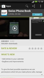 HTC One S - Applications - Installing applications - Step 8