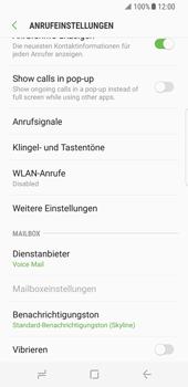 Samsung Galaxy S8 - Anrufe - Rufumleitungen setzen und löschen - Schritt 7