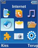 Samsung E2370 Megacell - Internet - Hoe te internetten - Stap 2