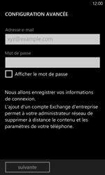 Nokia Lumia 820 / Lumia 920 - E-mail - Configuration manuelle - Étape 7