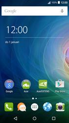 Acer Liquid Z530 - Applicaties - Account aanmaken - Stap 1