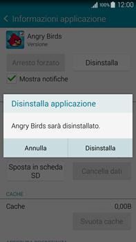 Samsung Galaxy Note 4 - Applicazioni - Come disinstallare un