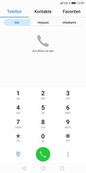 Huawei Mate 10 Lite - Anrufe - Rufumleitungen setzen und löschen - 3 / 9