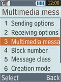 Samsung B2100 Xplorer - MMS - Manual configuration - Step 6