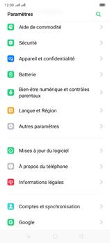 Oppo Reno 2 - Sécuriser votre mobile - Personnaliser le code PIN de votre carte SIM - Étape 4